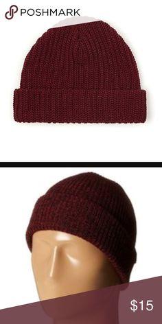 American apparel beanie maroon red NWOT American Apparel Accessories Hats