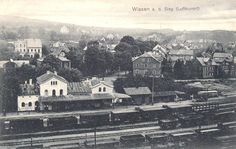 031 - Bahnhof 1910 mit Güterverkehr