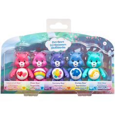 Care Bears ... love the colors