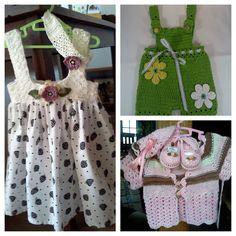 Crochet Sun dresses for Toddlers