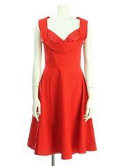 EF. ◆クラシカルスタイルのシルエット美人なリトルブラックドレス【他カラーあり】