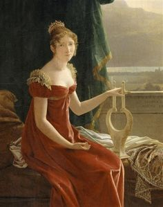 Hortense Bonaparte  1815  François Fleury-Richard