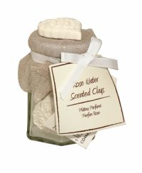 Sil Rose Water Scented Clays 5 Pack Sandalwood Candles, Scented Candles, Water Candle, Candle Jars, Church Candles, Mini Candles, Clays, Rose Water, Potpourri