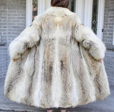 Old Mink Coats For Sale Beautiful Vintage Coyote Fur Coat Size 8 10 In