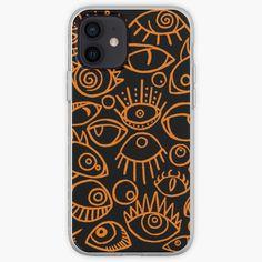 Spooky Eyes, Semi Transparent, Iphone Case Covers, Shells, Ink, Prints, Conch Shells, Seashells, Sea Shells