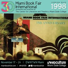 Miami Book Fair International, 1998