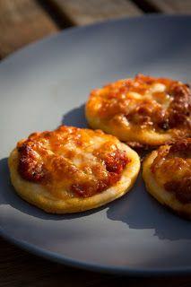 Aperitiefhapjes: Mini pizza