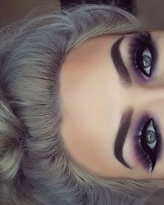 Wirklich wie braune Augen Make-up Pic 3090 Makeup make up for brown eyes Purple Eye Makeup, Makeup For Brown Eyes, Smokey Eye Makeup, Skin Makeup, Eyeshadow Makeup, Purple Smokey Eye, Makeup Brushes, Eyeshadow Blue Eyes, Purple Eyeshadow Looks