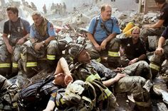 The men & women of the Fire & Rescue Departments, Police Departments, Paramedics and others who were there on 9/11 at the Twin Towers