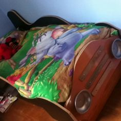 Do it yourself race car bed