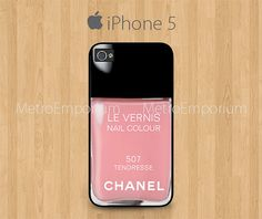 Chanel Nail Polish iPhone 5 Case Le Vernis Nail by MetroEmporium, $15.79 Chanel Le Vernis Nail Polish Colour #louboutin #style #chanel #chinaglaze #OPI #nailsinc #dior #orly #Essie #Nubar @opulentnails over 17,000 pins
