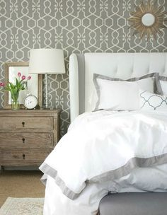 Grey Tones #wallpaper #decortips