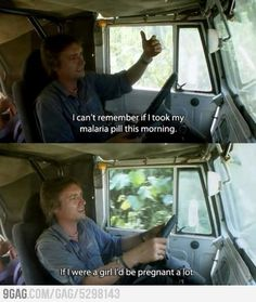 (Oh, Top Gear I love you)   Why male birth control pill will not work.