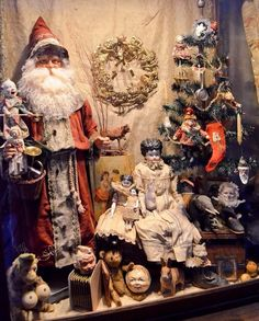 Vintage Christmas and Antique Toys from the 1800s