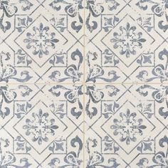 Lotto Ceramic Tile - 18 x 18 - 100411743 | Floor and Decor  Love this for powder room floor