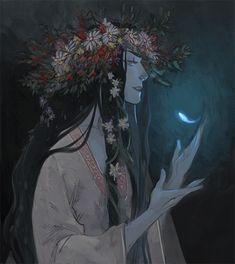 phobso:  Today isWalpurgis Night - I had to draw a witch <3   Warm
