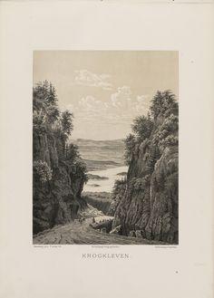Norge fremstillet i Tegninger - Johan Fredrick Eckersberg - Krogkleven. jpg (4360×6080)