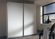 Schwebetürenschrank Add On 200 Weiß 7009. Buy now at https://www.moebel-wohnbar.de/schwebetuerenschrank-add-on-a-200-cm-kleiderschrank-weiss-7009.html