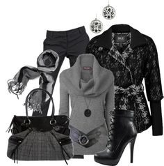 """""""BKE Coat #1"""" by stylesbyjoey ❤ liked on Polyvore"""