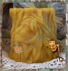 Beeswax Tree Woman Spirit Candle