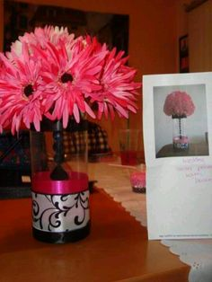 Vases are cute... Real flowers would look way better