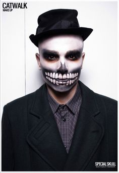 Skully make-up.