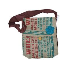 Rice Bag Satchel (Handmade in India) - $35.00  http://workofworth.org/products/rice-bag-satchel