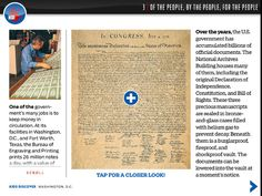 Included in Washington D.C. for iPad, is a full, pinch-and-zoomable copy of the Declaration of Independence.