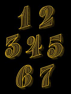 numbers for Variety Mag on Behance