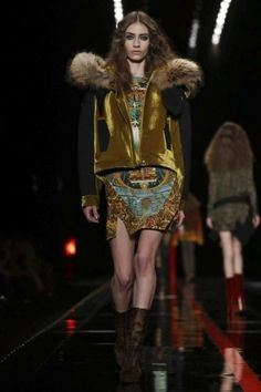 Just Cavalli Fall Winter Ready To Wear 2013 Milan