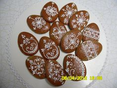 klikni pro další 74/105 Cookies, Gingerbread, Cupcakes, Holiday, Food, Easter Cookies, Frosted Cookies, Wafer Cookies, Eggs