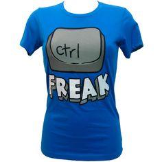 Goodie Two Sleeves Control Freak T-Shirt   Gothic Clothing   Emo... ($31) via Polyvore