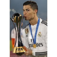 Congratulations #CristianoRonaldo for winning your 2nd FIFA Club World Cup trophy!