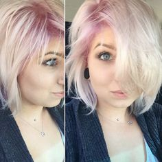 12 Gorgeous Pastel Hair Colors to Welcome Spring via Brit + Co.