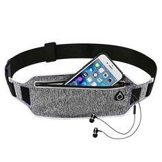 b38026d6f8 Professional Running Waist Sport Belt Mobile Phone Pouch Belt Men Women  With Hidden Pouch Gym Bags Running Belt Waist Pack