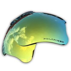 7e111e487b701 Owants Replacement Lenses for Your Oakley Flak Jacket XLJ Sunglasses Frames  - Multiple Colors Availble Gold-Polarized)