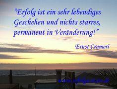 Erfolgszitat von Ernst Crameri Ernst Crameri  Schweizer Geschäftsmann und Schriftsteller (06.10.1959 - 06.10.2069)  Statement Ernst Crameri... (http://prg.li/m/218744)
