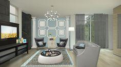 Fancy room of living