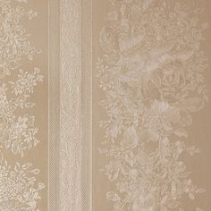 Floral Stripe Golden