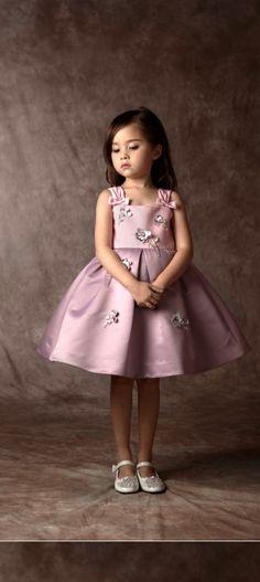 Pink embellished dress.
