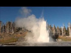 "Yellowstone geysers & hot springs (part 12) (HD) (change ""setting"" to 1080pHD)"