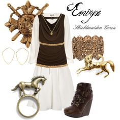 5. Eowyn, created by detolivia on Polyvore