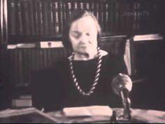 Поэт, Ольга Бертгольц, читает свои стихи, Ленинград, 1965, кинохроника
