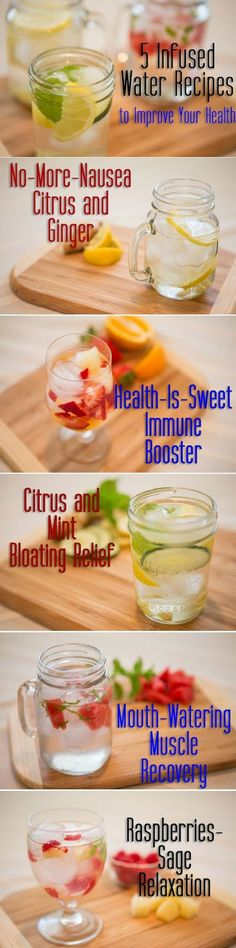 5 Infused Water Recipes to Improve Your Health | Medi Villas[ 4LifeCenter.com ]