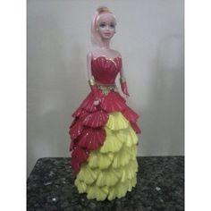 Bonecas Barbie Em Eva - R$ 35,00 em Mercado Livre