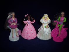 McDonald's Barbie toys.  Had all of them, Mom gave them away.  Still a little angry.