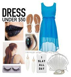 """""""Nailed it!~Dress under $50!!!!"""" by shelbyclaire040324 ❤ liked on Polyvore featuring Aéropostale, Jeffree Star, Skinnydip and Dressunder50"""