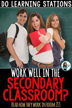 Secondary English teachers: are you curious if stations will work for you? Check out my blog posts on how they work in my classroom!