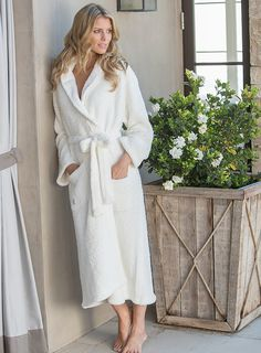 Nothing is more cozy and soft than Barefoot Dreams robes. Available now at Johari.