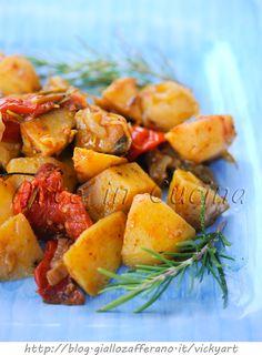 Patate al vino bianco al forno o padella ricetta facile vickyart arte in cucina
